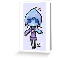 Zelda Chibis (2016)- Fi Greeting Card
