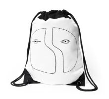 The Origin of Love Drawstring Bag