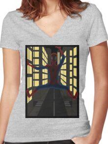 webhead Women's Fitted V-Neck T-Shirt