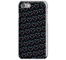 Trans Heart Pattern iPhone Case/Skin