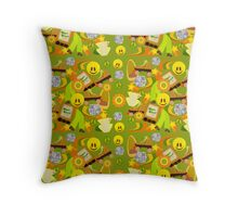 Super Groovy Mega Seventies Throw Pillow