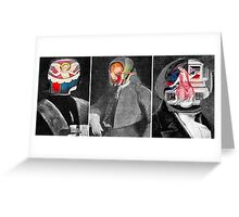 Ghosts of Man 6. Greeting Card