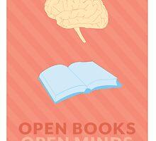 Open Books, Open Minds by Samantha Weldon