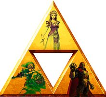 Triforce - The Legend Of Zelda by BisharpTheRangr
