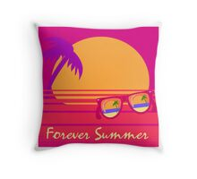 Forever Summer Throw Pillow