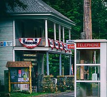 Telephone Booth by Nazareth