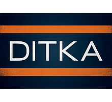 Ditka Photographic Print