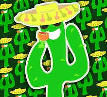 Party On Party Cactus by mytshirtfort
