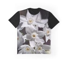 Cluster Of Paperwhite Flowers Graphic T-Shirt