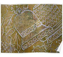 Xmas Card Design 3 No Writing by Heatherian Poster