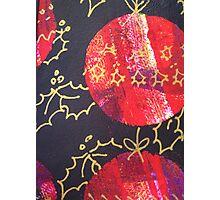 Xmas Card Design 10 by Heatherian Photographic Print
