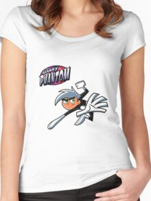 Danny Phantom  Women's Fitted Scoop T-Shirt