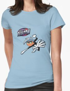 Danny Phantom  Womens Fitted T-Shirt