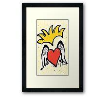 Royal Heart Framed Print