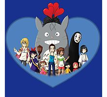 love family studio ghibli Photographic Print