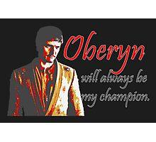 Oberyn Photographic Print
