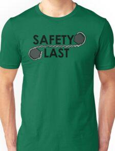 Safety Last (Safety Wire) Shirt Unisex T-Shirt