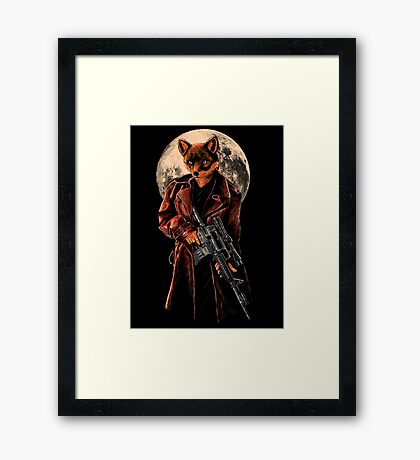 You're Next Ba....ng Framed Print
