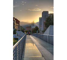 Glass Bridge Photographic Print