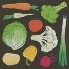 Eat Your Veggies! by Kuba Gornowicz