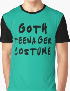 Goth teenager costume Funny Graphic T-Shirt