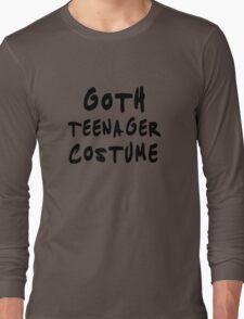 Goth teenager costume Funny Long Sleeve T-Shirt