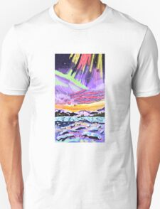 Aurora Sunset Unisex T-Shirt