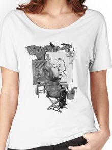 Alfred Hitchcock Women's Relaxed Fit T-Shirt