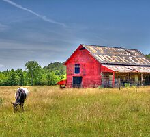 Red Barn by troxeld
