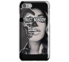 TRUST NOBODY iPhone Case/Skin