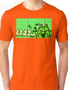 Graffiti DOG Street Unisex T-Shirt