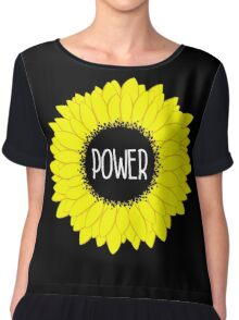 Flower Power Chiffon Top