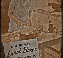 Packing Lunchboxes for War Workers by dianegaddis
