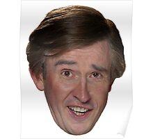 Alan Partridge Face Poster