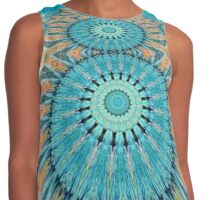 Kaleidoscope Patterns Contrast Tank