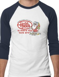 Hills is where the toys are! Men's Baseball ¾ T-Shirt
