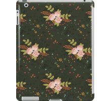 Woodland Flowers - Green iPad Case/Skin
