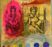 Double Ganesha by JodiFuchsArt