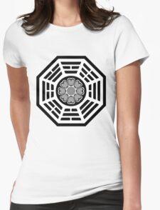 Dharma Initiative White Lotus Womens Fitted T-Shirt