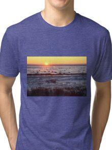 Sunrise at Churchill, Canada Tri-blend T-Shirt