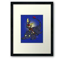 Dragon Time! Framed Print