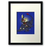 Dragon Time! Framed Print