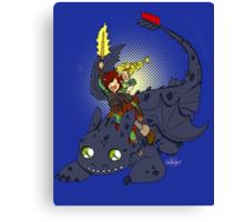 Dragon Time! Canvas Print