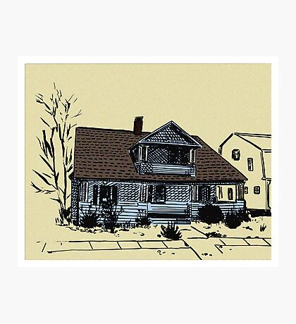 Connecticut House Series 2  Photographic Print