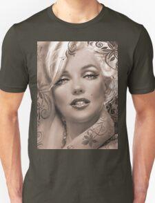 Mucha 2 sepia Unisex T-Shirt