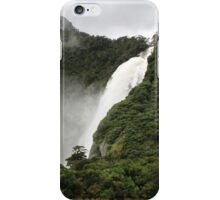 Waterfall - Milford Sound iPhone Case/Skin