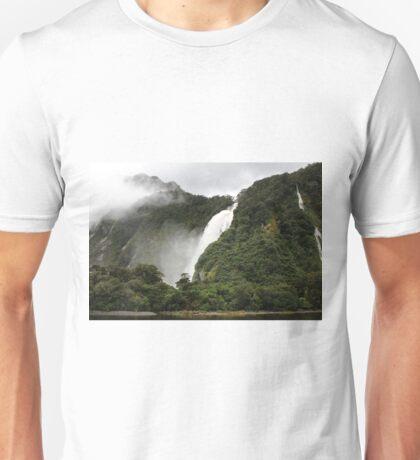 Waterfall - Milford Sound Unisex T-Shirt