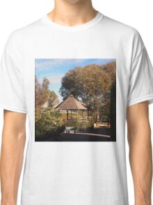 The grounds of the beautiful Glen Erin Winery at Lancefield Vic Australia Classic T-Shirt