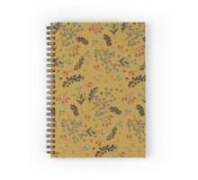 Woodland Berries - Goldenrod  Spiral Notebook