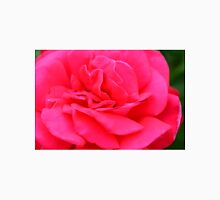 Macro on pink rose. Unisex T-Shirt